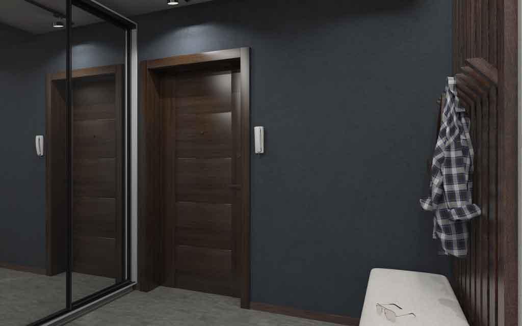 Дизайн интерьера Тюмень ул. Вересковая д.11. Интерьер для холостяка (6)