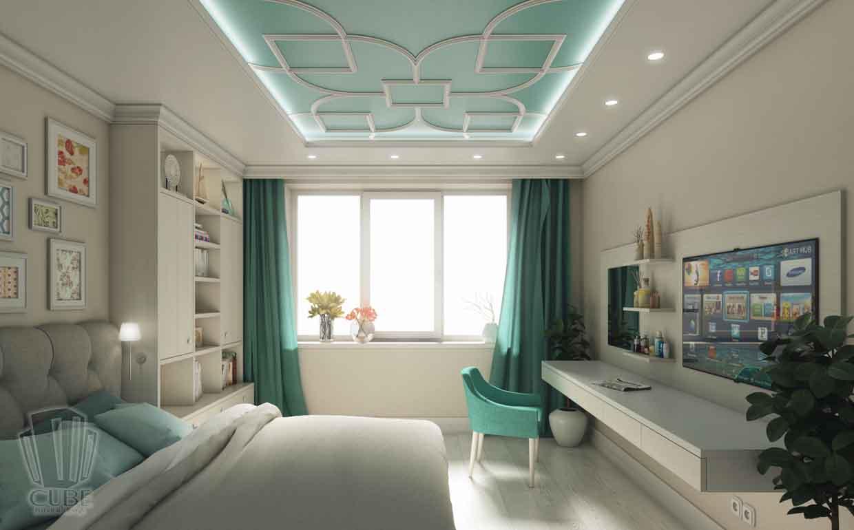 Дизайн интерьера квартиры в Тюмени Николая Семенова д.21. Подарок для мамы (1)