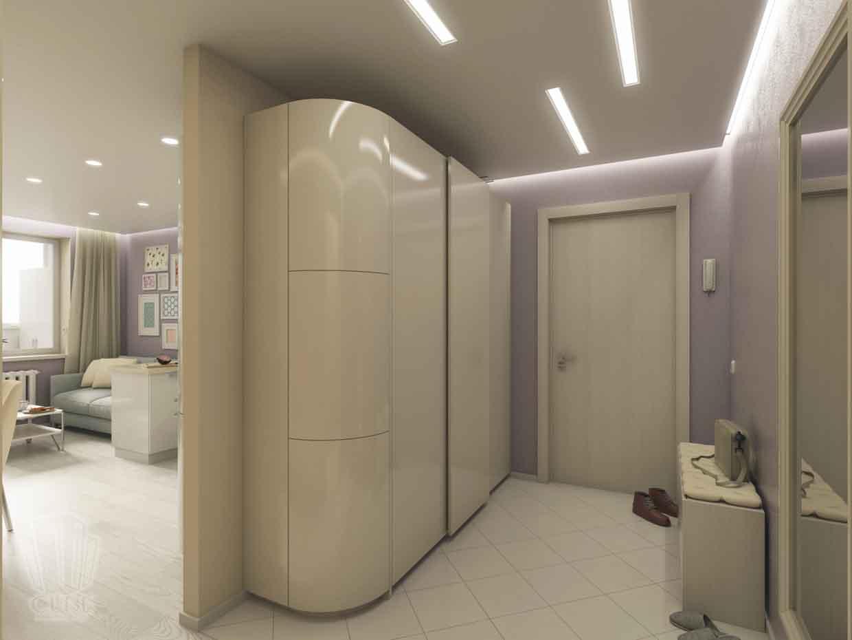 Дизайн интерьера квартиры в Тюмени Николая Семенова д.21. Подарок для мамы (13)