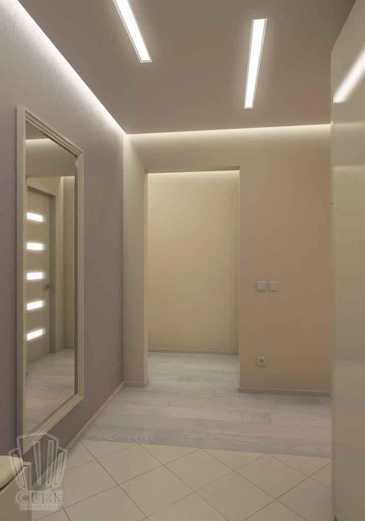 Дизайн интерьера квартиры в Тюмени Николая Семенова д.21. Подарок для мамы (16)