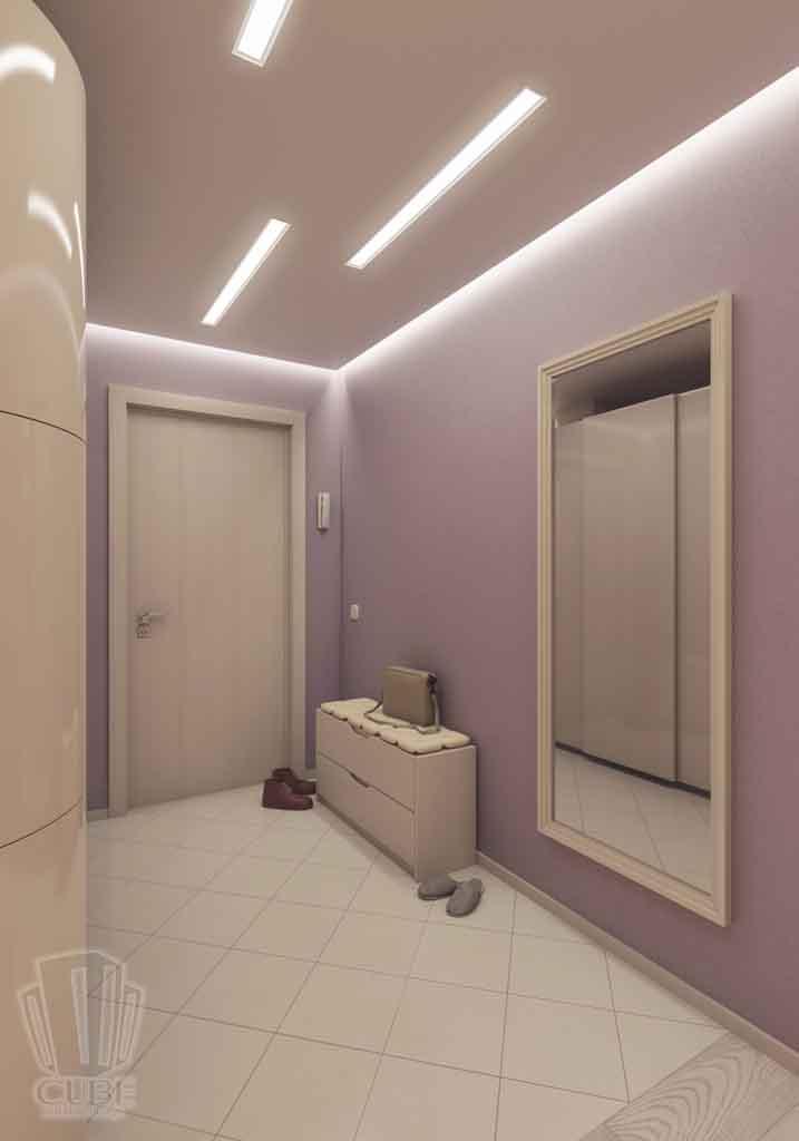 Дизайн интерьера квартиры в Тюмени Николая Семенова д.21. Подарок для мамы (18)
