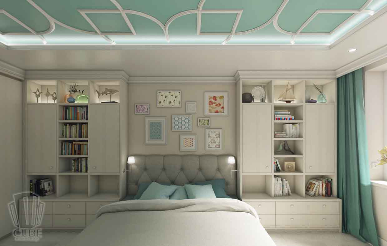 Дизайн интерьера квартиры в Тюмени Николая Семенова д.21. Подарок для мамы (3)