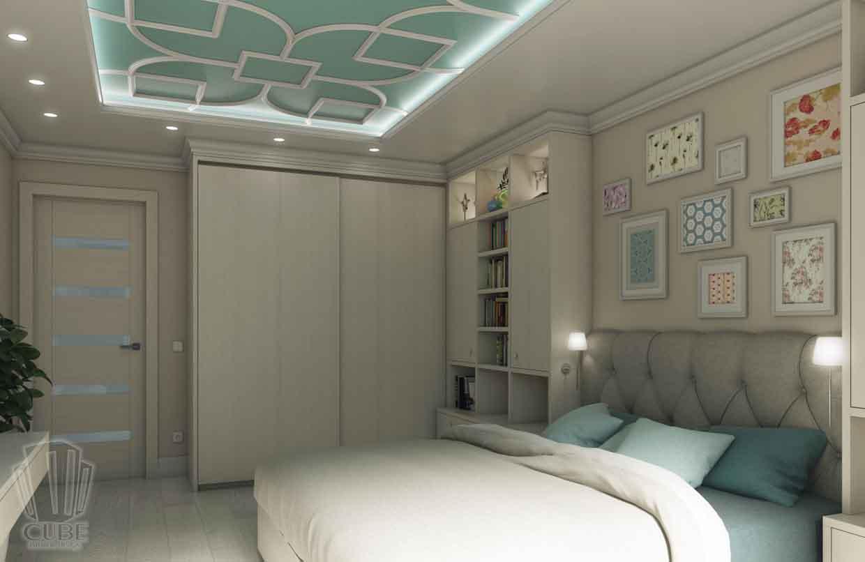 Дизайн интерьера квартиры в Тюмени Николая Семенова д.21. Подарок для мамы (4)