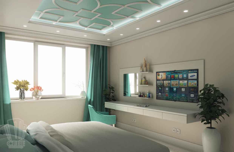 Дизайн интерьера квартиры в Тюмени Николая Семенова д.21. Подарок для мамы (5)