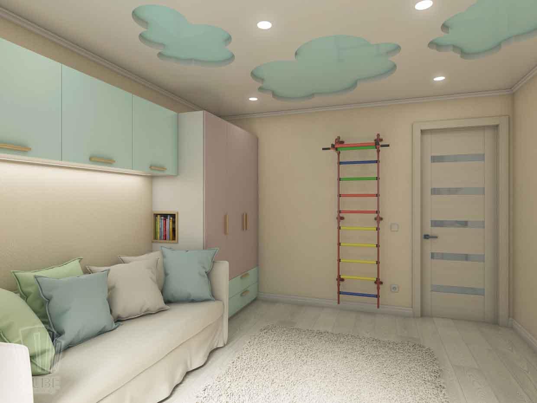 Дизайн интерьера квартиры в Тюмени Николая Семенова д.21. Подарок для мамы (9)