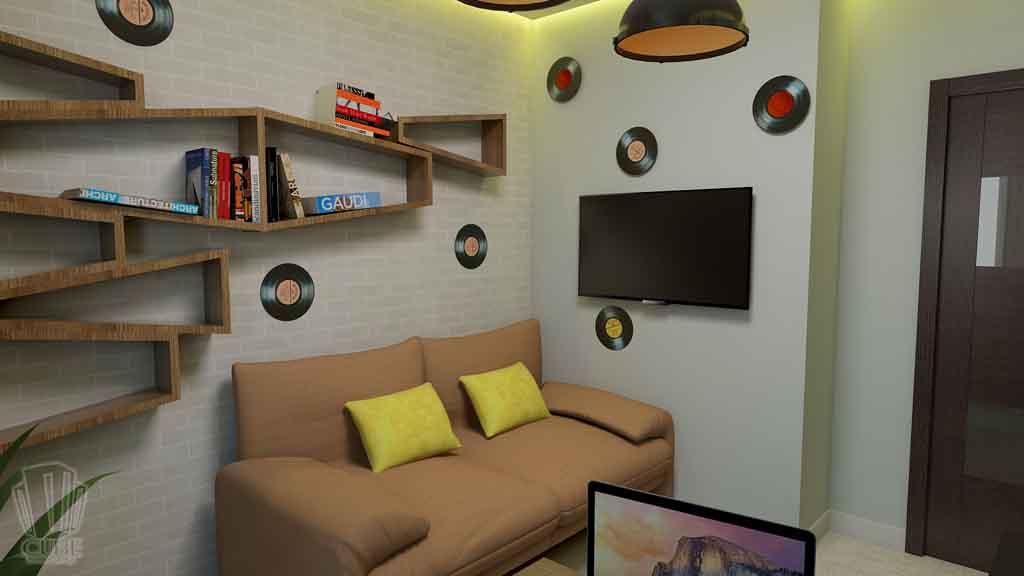 Дизайн квартиры в Тюмени Монтажников, д. 43. Соединение двух квартир (16)