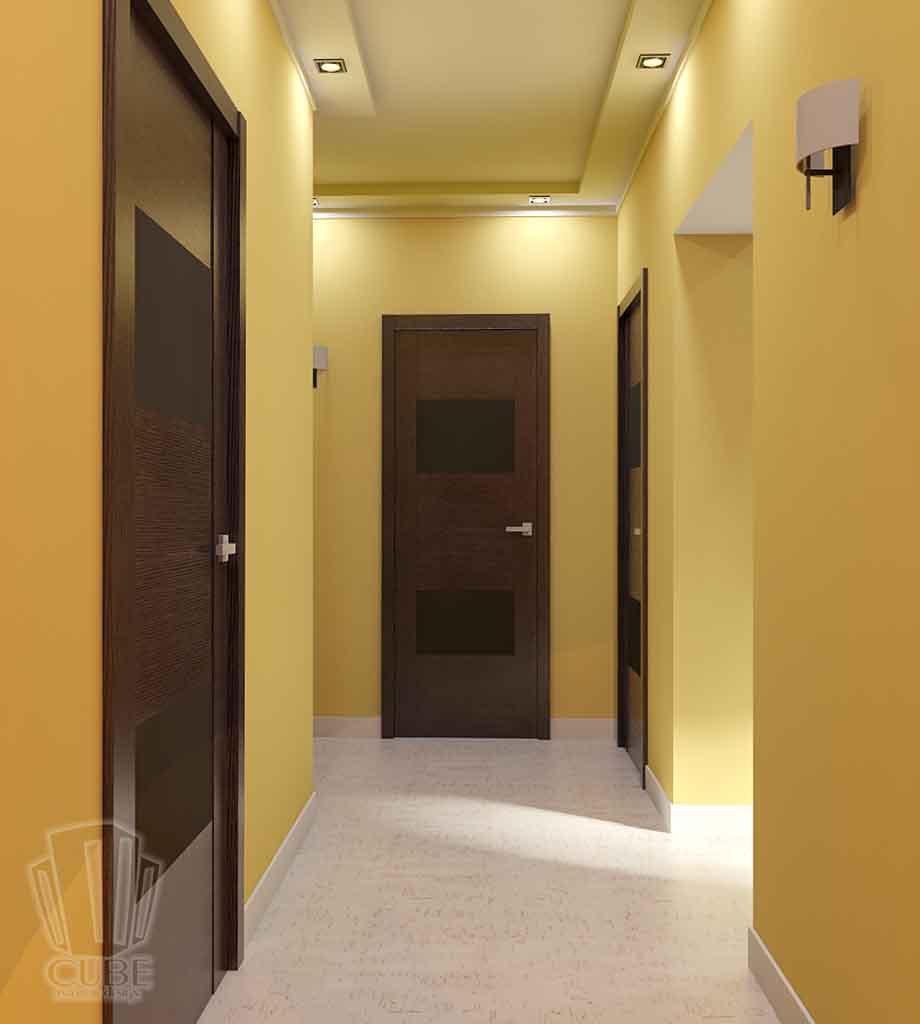 Дизайн квартиры в Тюмени Монтажников, д. 43. Соединение двух квартир (17)