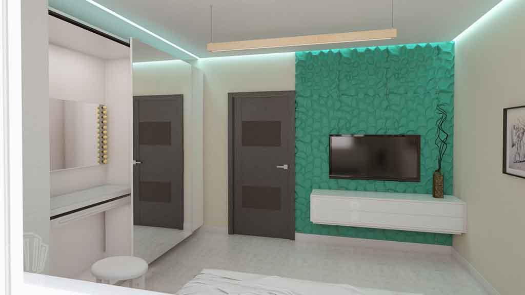 Дизайн квартиры в Тюмени Монтажников, д. 43. Соединение двух квартир (22)
