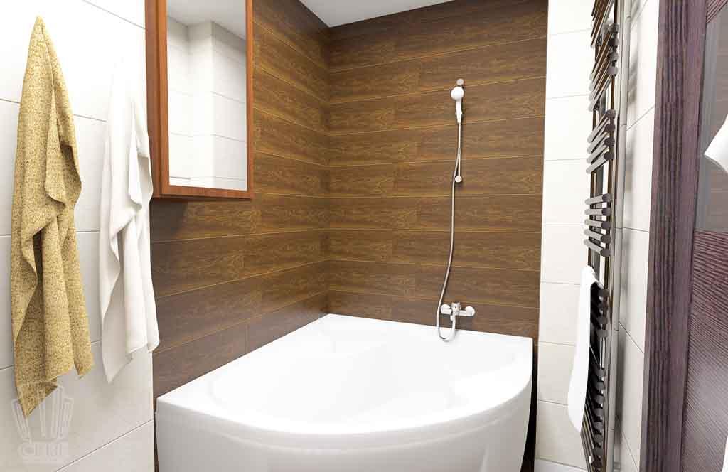Дизайн квартиры в Тюмени Монтажников, д. 43. Соединение двух квартир (24)