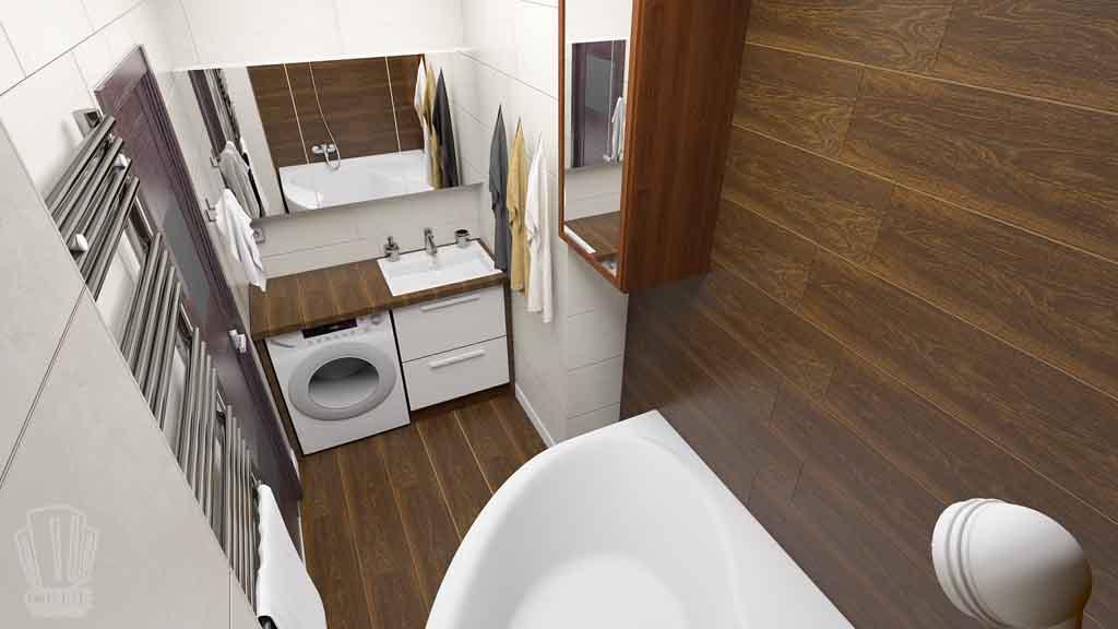 Дизайн квартиры в Тюмени Монтажников, д. 43. Соединение двух квартир (26)