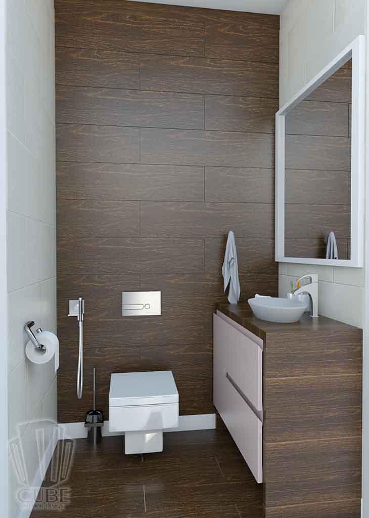 Дизайн квартиры в Тюмени Монтажников, д. 43. Соединение двух квартир (27)
