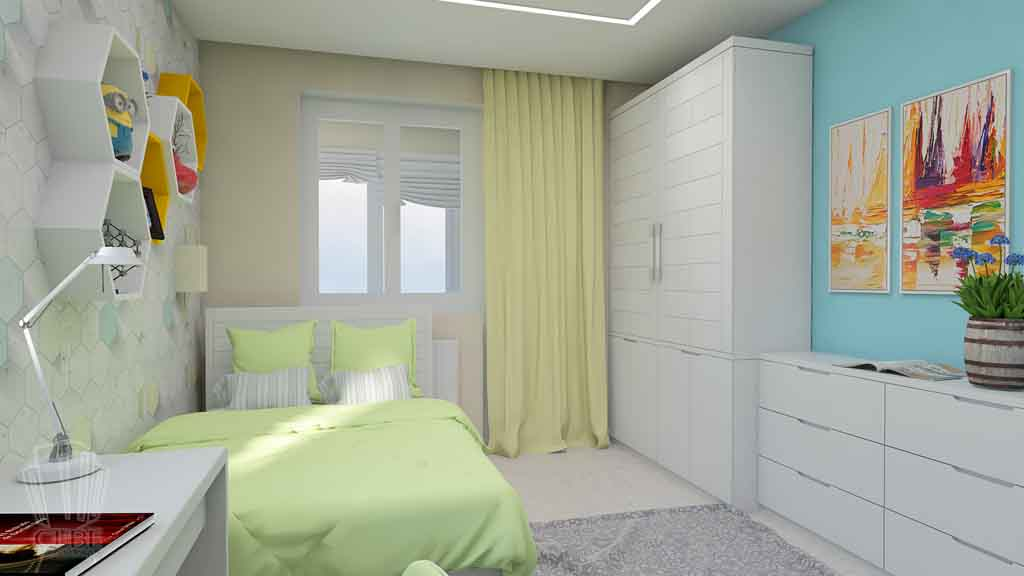Дизайн квартиры в Тюмени Монтажников, д. 43. Соединение двух квартир (6)