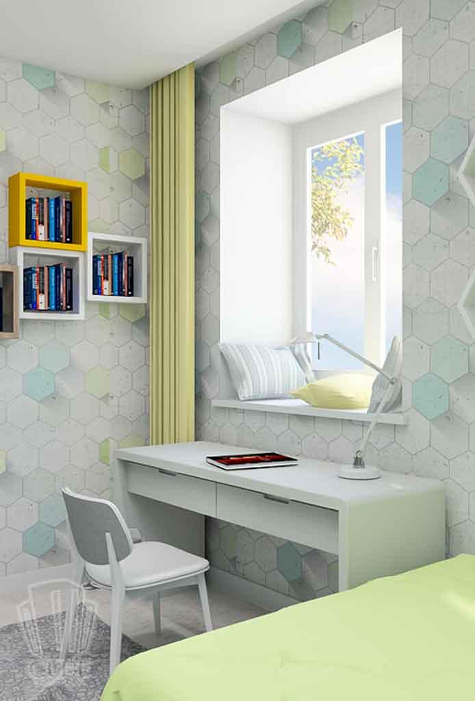 Дизайн квартиры в Тюмени Монтажников, д. 43. Соединение двух квартир (9)