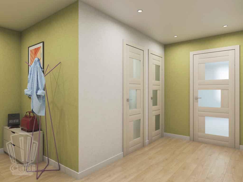 Дизайн квартиры в Тюмени. Город Тюмень, ул. Харьковская д.69. Больше цвета (7)