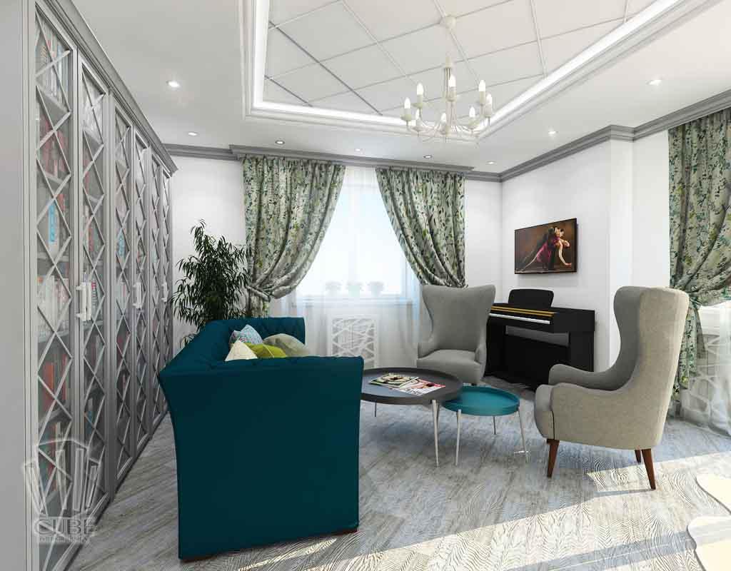 Дизайн-проект ж-к Столичный. Неоклассика для Успешной леди в Тюмени (12)
