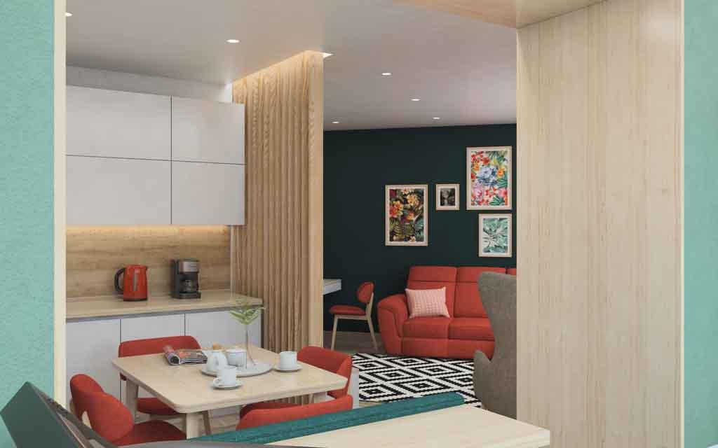 Тюмень улица Маршала Захарова д. 11. Гостиная для большой семьи Дизайн (2)