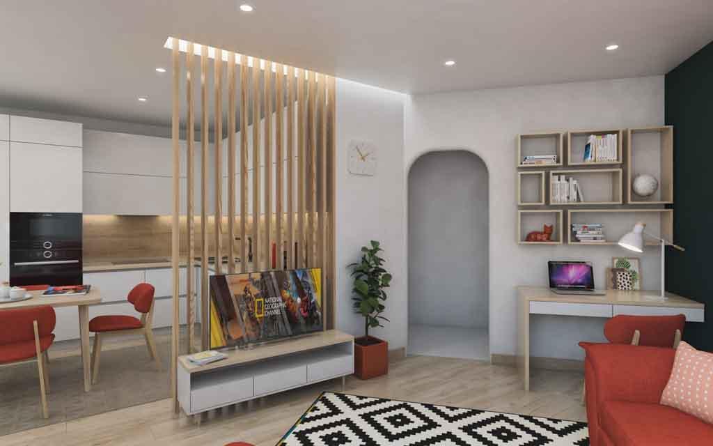 Тюмень улица Маршала Захарова д. 11. Гостиная для большой семьи Дизайн (8)