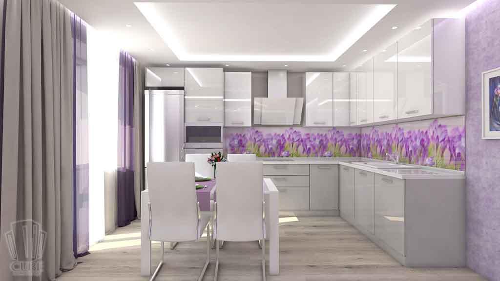 Тюмень улица М. Сперанского д.33. Насыщенная гостиная дизайн проект интерьера (4)