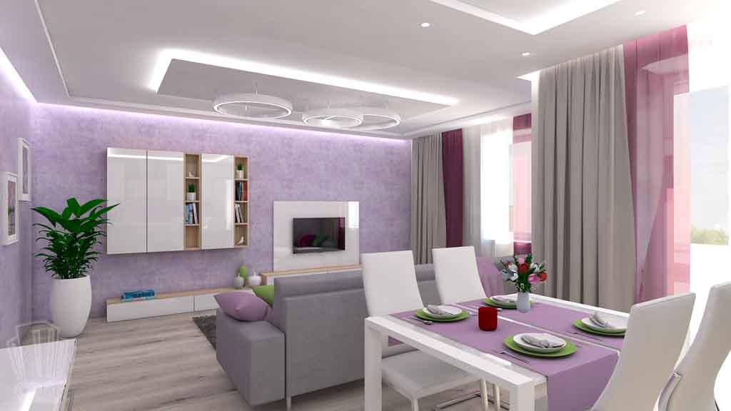 Тюмень улица М. Сперанского д.33. Насыщенная гостиная дизайн проект интерьера (5)