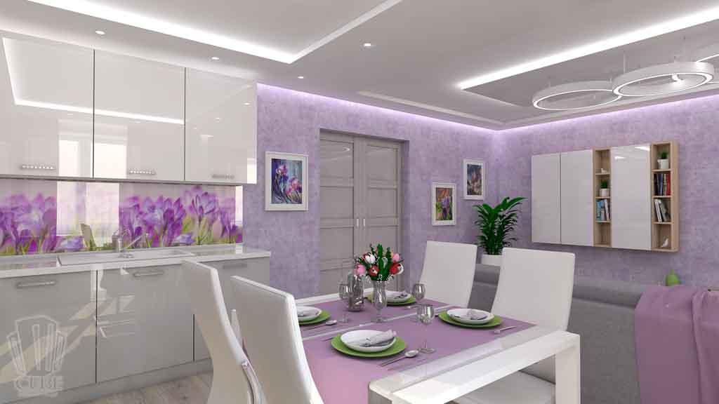 Тюмень улица М. Сперанского д.33. Насыщенная гостиная дизайн проект интерьера (6)