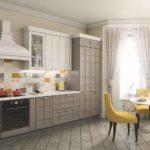 Стильный дизайн кухни в квартире Тюмень