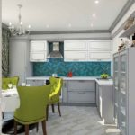 Тюмень дизайн кухни-гостиной