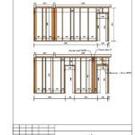 2-17 Схема монтажа каркаса стены С2