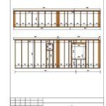 2-19 Схема монтажа каркаса стены С4
