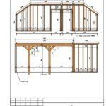 2-23 Схема монтажа каркаса стены С8