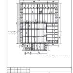 2-4 Схема расположения балок перекрытия