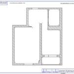 Схема обозначения разверток стен
