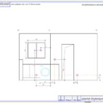 Схема разверток стен ванной комнаты
