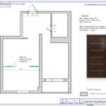План монтажа дверей