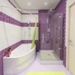 Дизайн интерьера ванной комнаты в Тюмени