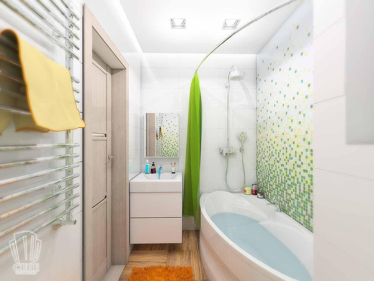 Дизайн интерьера в Тюмени м-н Преображенский Яркая квартира для друзей (5)