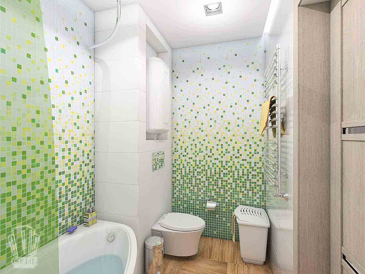 Дизайн интерьера в Тюмени м-н Преображенский Яркая квартира для друзей (6)