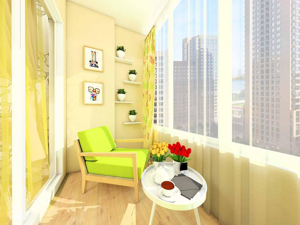 Дизайн интерьера в Тюмени м-н Преображенский Яркая квартира для друзей (7)