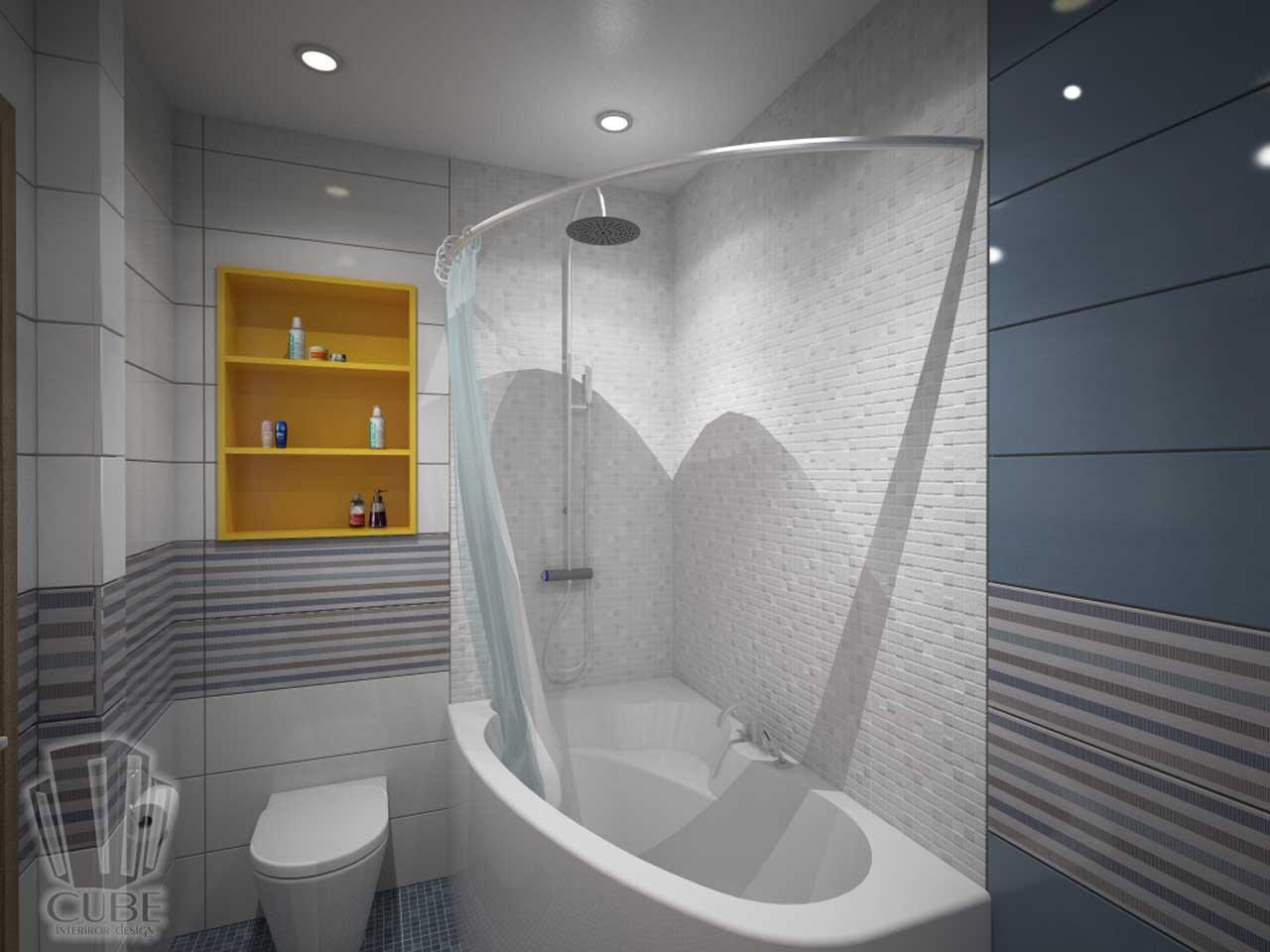 Дизайн-проект интерьера. Тюмень ул. Широтная д.158. Квартира для молодой семьи (15)