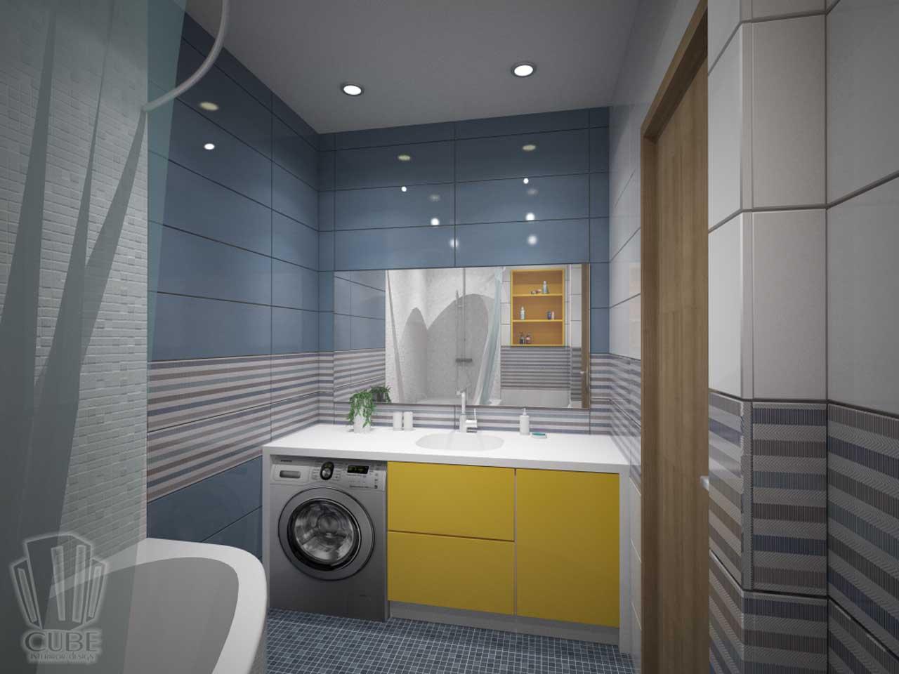 Дизайн-проект интерьера. Тюмень ул. Широтная д.158. Квартира для молодой семьи (16)