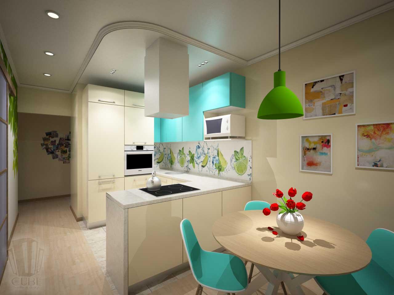 Дизайн-проект интерьера. Тюмень ул. Широтная д.158. Квартира для молодой семьи (17)