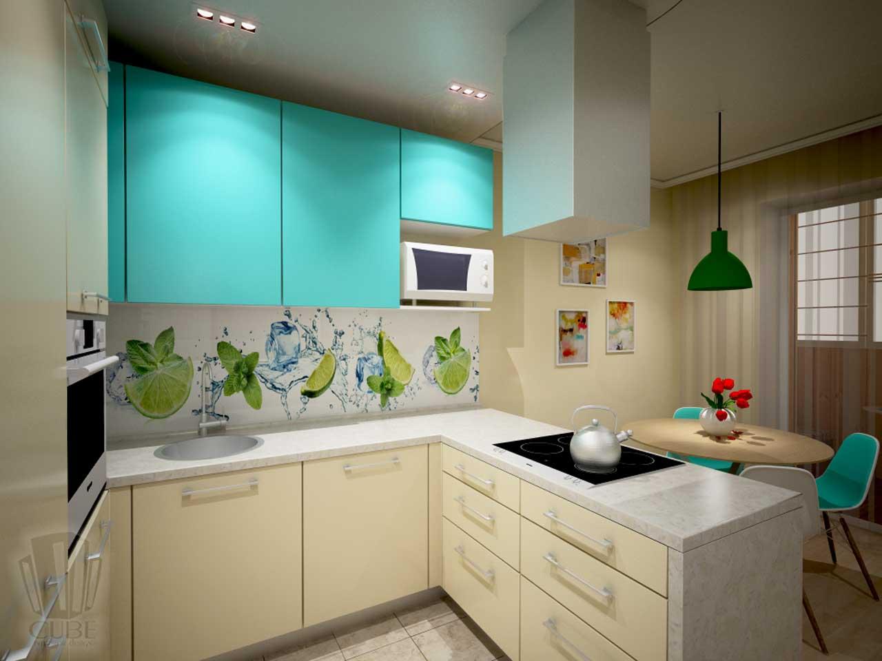 Дизайн-проект интерьера. Тюмень ул. Широтная д.158. Квартира для молодой семьи (19)