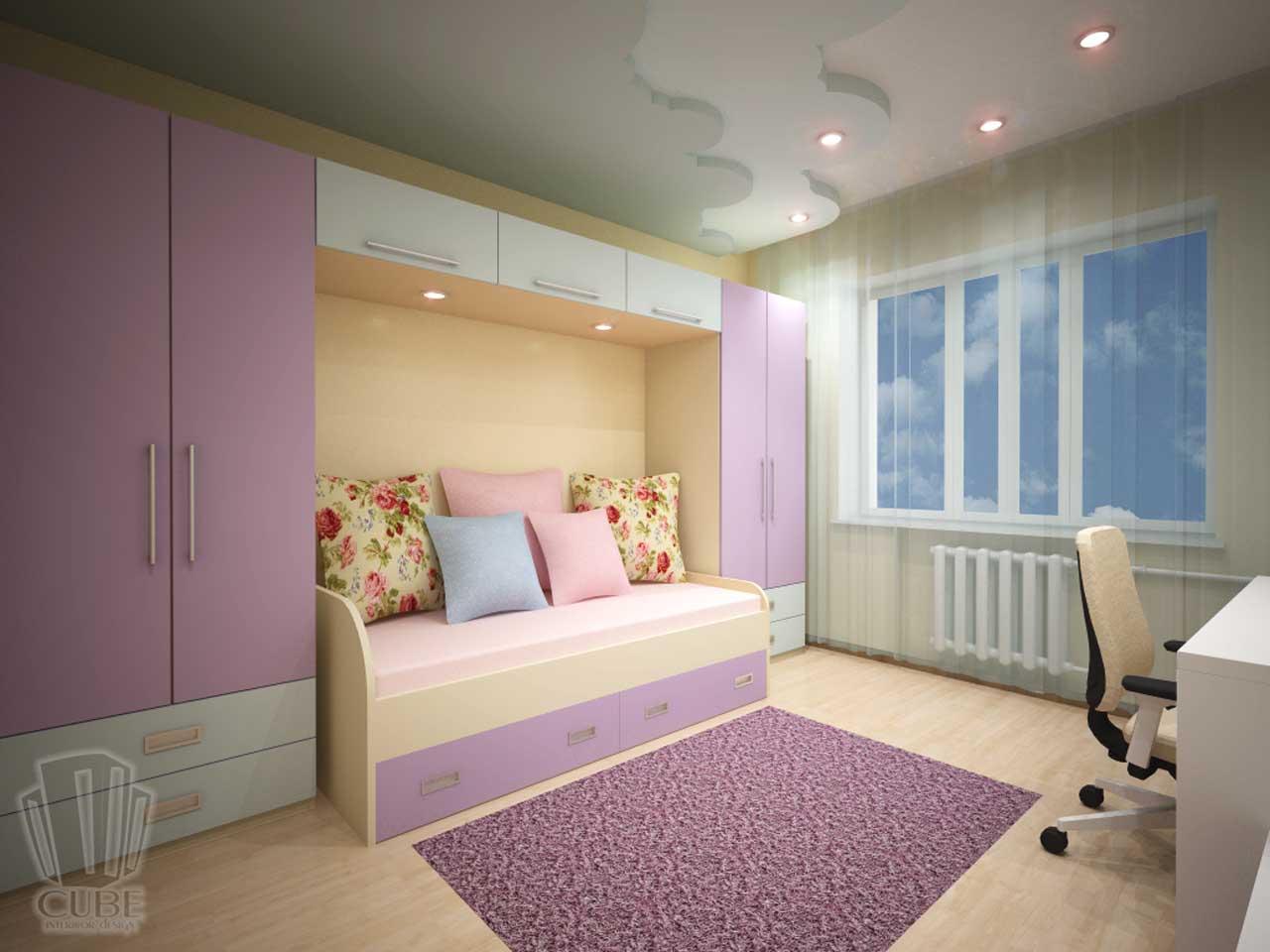 Дизайн-проект интерьера. Тюмень ул. Широтная д.158. Квартира для молодой семьи (2)