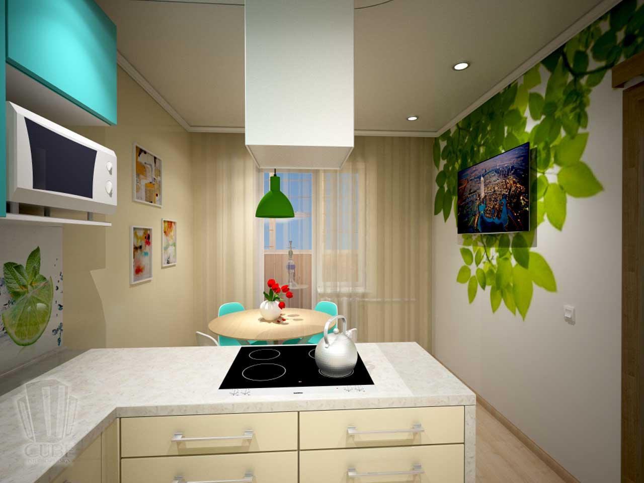 Дизайн-проект интерьера. Тюмень ул. Широтная д.158. Квартира для молодой семьи (20)