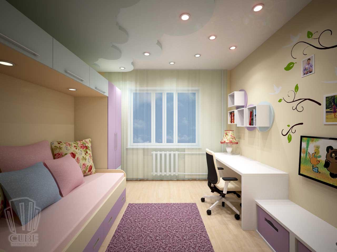 Дизайн-проект интерьера. Тюмень ул. Широтная д.158. Квартира для молодой семьи (3)