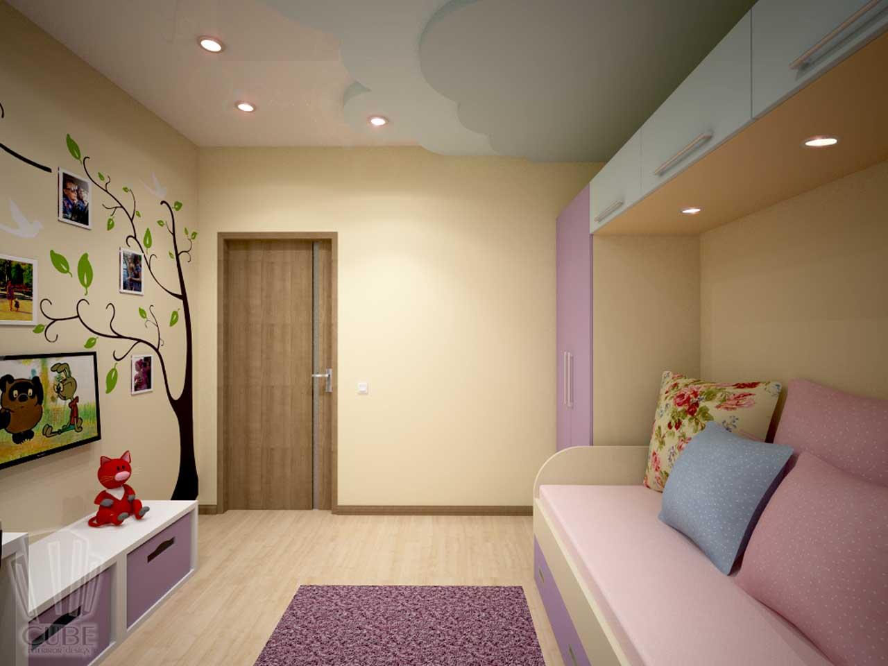 Дизайн-проект интерьера. Тюмень ул. Широтная д.158. Квартира для молодой семьи (4)