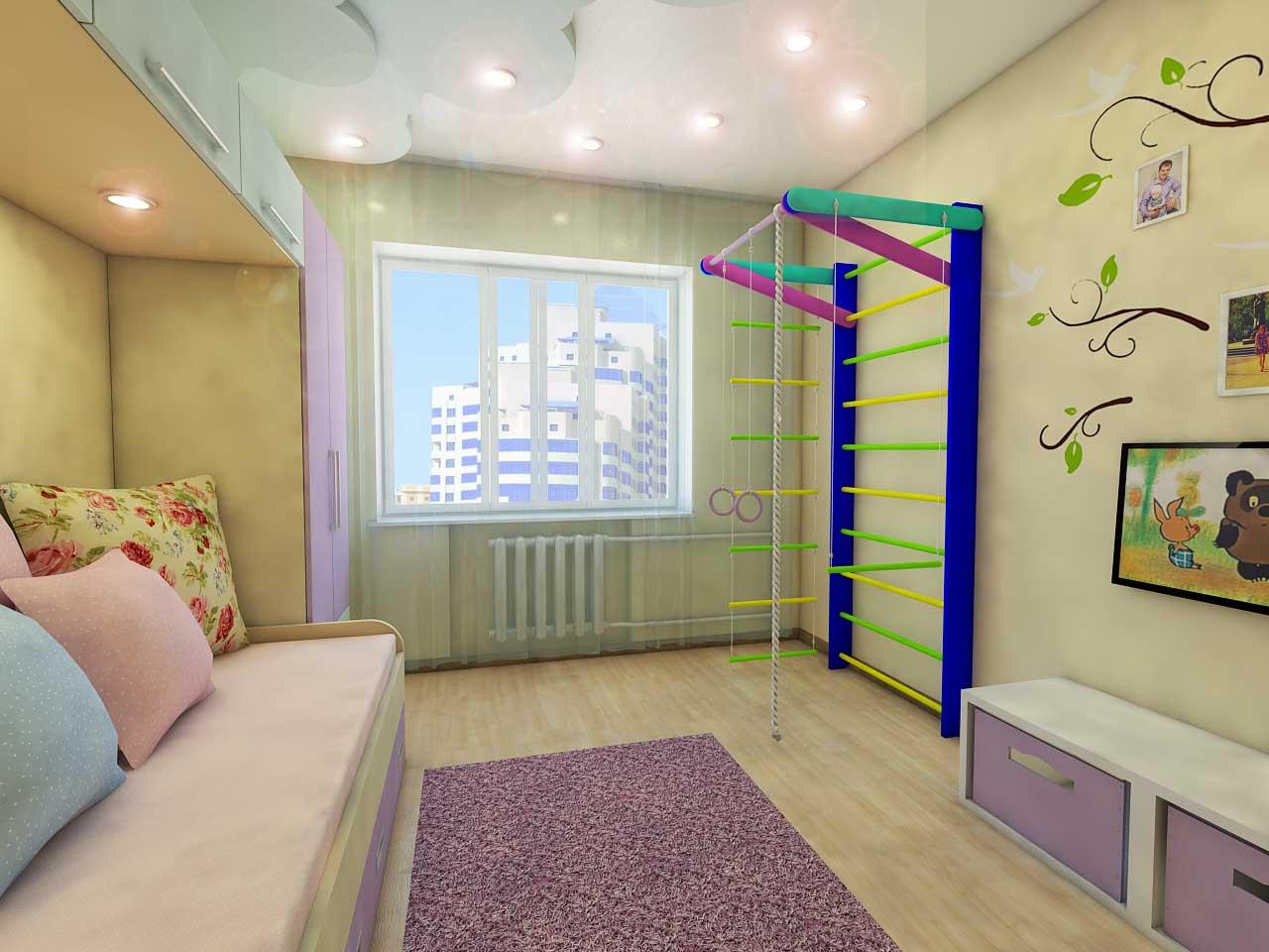 Дизайн-проект интерьера. Тюмень ул. Широтная д.158. Квартира для молодой семьи (7)